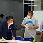 文京区ビーチボール連盟の理事会